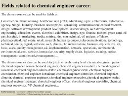 Top 5 Chemical Engineer Cover Letter Samples Collection Of Solutions