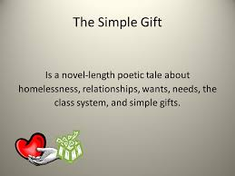 the simple gift essay summary the simple gift essay summary