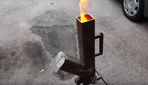 cook your next scrumptious meal with diy pellet fed rocket stove brilliant diy