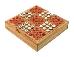 Sudoku Wooden Board Game Instructions MaxiAids Sudoku Wooden Board Game 5