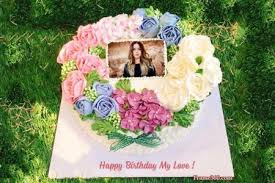 Photo On Birthday Cake