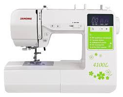 <b>JANOME 4100L</b> Компьютеризированная <b>швейная машина</b>