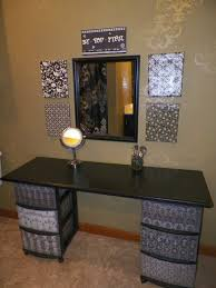cool makeup vanity table ideas ultimate home ideas intended for desk vanity setup