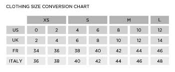 Fr Chart Conversion Clothes Fr Us Ecosia Clothing Size Chart
