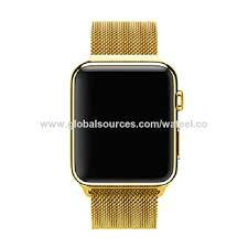 38 42mm stainless steel bracelet smart watch strap replacement watchband for apple watch iwatch new arrvial