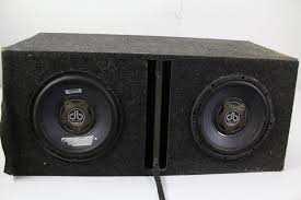 speakers in box. speakers in box e