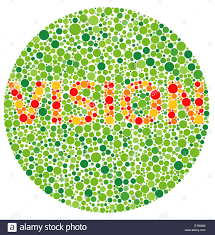 Colour Blindness Chart Colour Blindness Vision Stock Photo 73591224 Alamy
