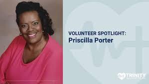 Volunteer Spotlight: Priscilla Porter - Trinity Health Center