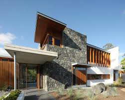 modern home architecture stone. One Wybelenna By Shaun Lockyer Architects, Rustic Stone Modern Home Architecture