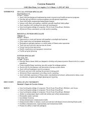 Fitness Specialist Resume Samples Velvet Jobs