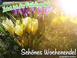 Jetzt Ist Der Frühling Da Schönes Wochenende Spring Easter