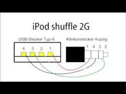 ipod shuffle 2nd generation cable pinout efcaviation com ipad charger circuit at Ipod Charger Wiring Diagram