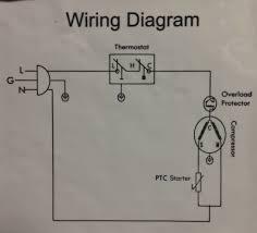 ptc relay refrigerator wiring diagram wire center \u2022 Refrigerator Compressor Relay Wiring Diagrams compressor ptc relay wiring diagram library of wiring diagram u2022 rh diagramproduct today current relay on refrigerator ge refrigerator compressor start