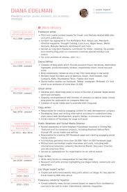 freelance writer resume samples visualcv resume samples database .
