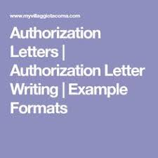 Authorization Letter To Get Documents | Authorization Letter ...
