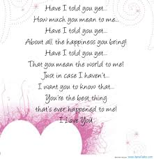 Have I Told You Yet How Much You Mean To Me Quotes Sayings