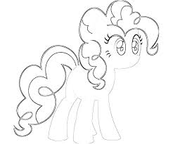 mlp pinkie pie coloring pages baby page slice co