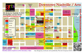 map of downtown nashville downtown nashville's fourth of july map