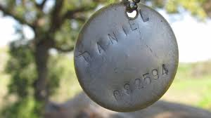 picture of personalized firefly dog tags the last of us