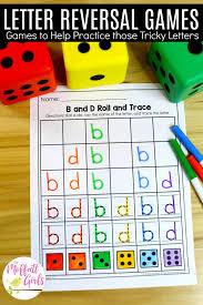 Letter Practicing Letter Reversal Practice