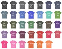 Forest Green Color Chart Anvil 980 Color Chart Mockup Anvil Mockup Every Color T Shirt Color Chart Shirt Color Chart T Shirt Color Guide
