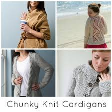 Free Knitted Vest Patterns Delectable The Coziest Chunky Knit Cardigan Patterns Ever