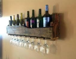 shelving mesmerizing wall mounted wine glass rack hanging holder wall mounted wine racks