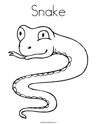 Small Picture S is for Snake Coloring Page Twisty Noodle