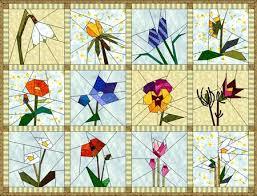 Photo : Free Quilt Pattern Star Flower Quilt From Ez Quilting At ... & Photo : Free Quilt Pattern Star Flower Quilt From Ez Quilting At . Adamdwight.com