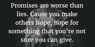 Broken Promises Quotes And Sayings 24 Sayings and Quotes on Broken Promises EnkiQuotes 13 77648