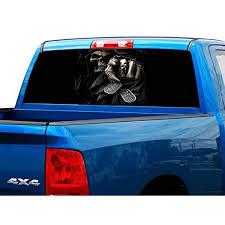 PickUp Truck Rear Window Decal: Amazon.com