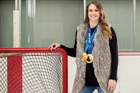 after the 2016 olympics mikkelson reid decided to take time off from playing hockey so she and reid could start a family she stopped but sta