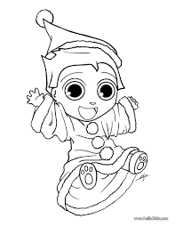 Small Picture Coloring Pages Santas Elves Coloring Page Coloring Pages Boe