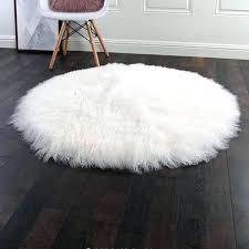 mongolian sheep fur rug lamb throw dark gray furniture fascinating full size of mongolian sheep