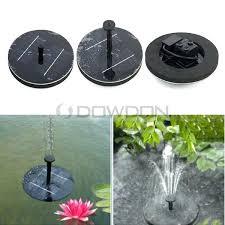 solar powered garden fountain solar power fountain water floating pump plant watering kit for bird bath