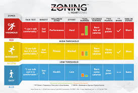 Heart Rate Numbers Chart Zoning Fitness In A Blink Wall Chart