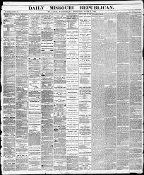 Daily Missouri Republican Saint Louis Mo 1861 06 05 St Louis