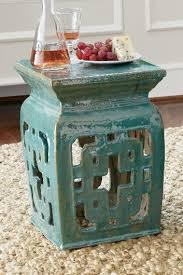 garden stool ceramic stool