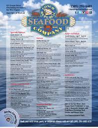 conch republic seafood pany restaurant menu key west