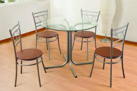 Glass Dining Table Set 4 Chairs Cheap Tables And Chairs