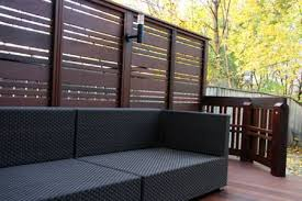 Privacy Screens For Decks Brilliant Delta Toronto Custom Regarding 11 ...