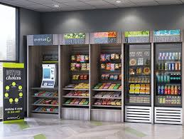 Kiosk Vending Machine New Canteen Vending Machines