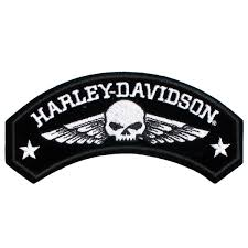harley davidson military wing willie g skull patch