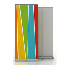 Retractable Display Stands Aluminium Roll Up Banner Poster Display Retractable Stand For 79