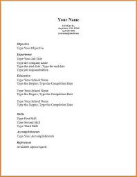 Basic Sample Of Resume 8 Example Simple Skills Based 16