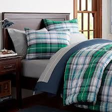 green plaid comforter. Delighful Plaid GEORGEu0027S NEW ROOM Portsmith Plaid Comforter  Sham Pbteen Inside Green R