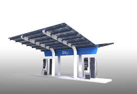 Make Charging Station 1st Non Tesla High Power Ev Charging Station In Usa Thanks Evgo