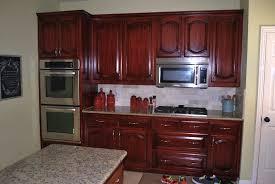 Glazing Oak Kitchen Cabinets Antique White Cabinets With Black Glaze