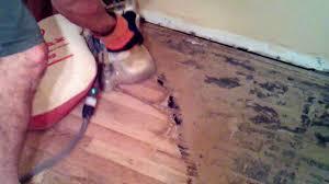 Sanding New Hardwood Floors Hand Sanding Restoring Wood Floors Historical Homes Phoenix