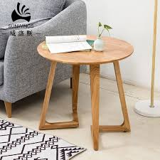 china solid wood side table